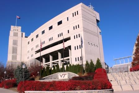 Lane Stadium Blacksburg