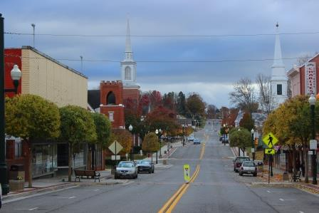 Downtown Christiansburg New River Valley