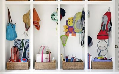 Organizing Your Home for Going Back to School